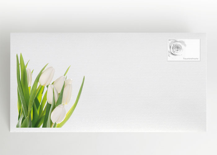 Tulpen - Briefumschlag Motiv B-11