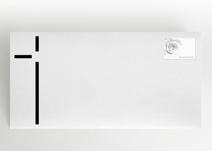 Dickes Kreuz - Briefumschlag Motiv S-24