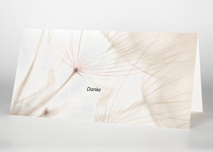 Samen einer Pusteblume - Danksagungskarte Motiv B-34