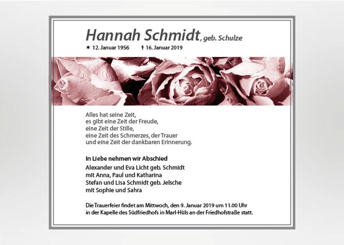 Nahaufnahme von Rosenblüten - Traueranzeige Motiv B-01