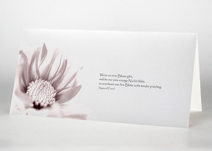 Trauerkarte Motiv B-10