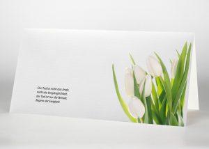 Tulpen - Trauerkarte Motiv B-11