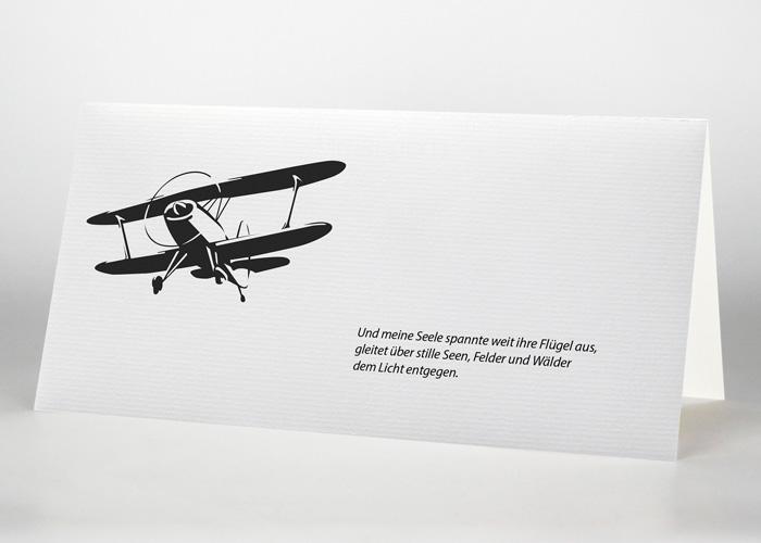 Trauerkarte Motiv S-20